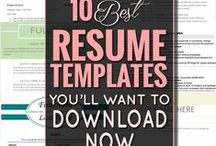 Job & Work / templates, resumes, job postings,work from home and more