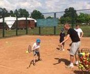 TKKF Górczewska - dzień otwarty Yellow Tenis / Korty tenisowe  TKKF Górczewska przy ulicy Raginisa - gry i zabawy dla dzieciaków . Warszawa, Bemowo, 05 czerwiec 2016 r.