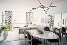 Inspiring Interiors / Interior design projects and Home interior inspiration.