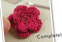 Crochet - Appliques / by Tina Smith