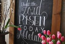 Holiday:  Easter / He is risen. / by Nancy Cowley