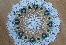 Crafts - Crochet - Doilies, Pot Holders and Wash Rags / by Terri Waldeck