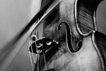 • Strings • / The older the violin the sweeter the tune. / by Elizabeth Harris