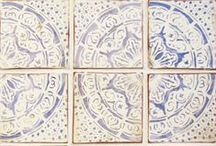 Tiles Inspired by Maghreb / Our Maghreb collection of custom terra cotta tiles touches on traditional themes from North Africa's Maghreb region. Ideal for your kitchen wall or backsplash project.