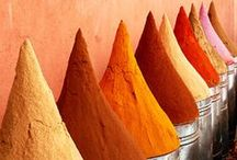 Warm Color Palette / From vivid oranges to red bricks and rust, add warmth to your space.