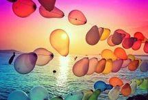 Ballons / by Ale Fella Miscelaneas Arte Utilitario