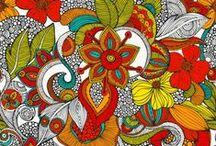 Zentangles/ doddle/ garabatos / by Ale Fella Miscelaneas Arte Utilitario