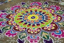 Mandala Art / Rangoli / by Ale Fella Miscelaneas Arte Utilitario