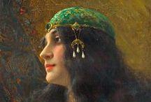 """ORIENTALISMO Y DELIRIO ANDALUSÍ / El término """"Andalusí"""" nos llena de ensoñaciones, de pinturas exóticas, de músicas mestizas, de poemas, de amaneceres espléndidos, de sangres ocultas...AL-ANDALUS"""
