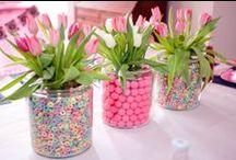Flower arrangements / Blommerangskikkings