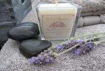Aromatic soy candles / Aromatic soy candles, massage candles and scented candles for well-being and ambience. / by La Sirène Aromatica