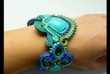 Soutache bracelet / Maya's design - unique soutache jewelry  soutache bracelets