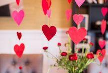 Valentines Day / Sevgililer gününe özel dekorasyonlar ve sofralar / by S.S.