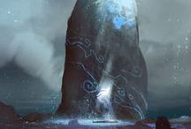 Artful Things / Mostly landscapes and concept art