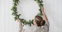 Weihnachten christmas / Christmas inspiration decoration ideas