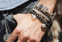 Accessories  - man - 1 a / Together we create inspiration for assesories for men to wear! Tuff! Cool! Poisened! Beautiful! Be creative!