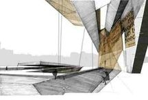 Sketching / Architectural sketches, drawings and presentations