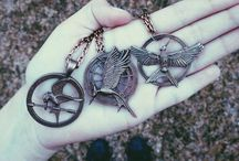 "Hunger Games / ""If we burn, you burn with us!"" - Katniss Everdeen, Mockingjay"