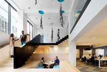 Workspace / A selection of innovative and creative working environments