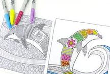 Coloring / Take time, de-stress, and color!