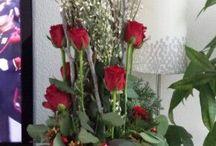 * paralel bloemstuk