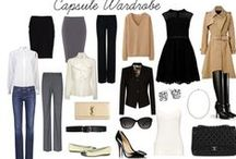 ⭕My Capsule Wardrobe Addiction⭕ / Capsule Wardrobe ideas for seasons, travel & work...