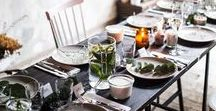 Tischdeko Table setting