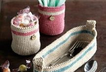 Crochet It -- HH Kitchen Sets & Accessories / Aprons, Covers & Cozies, Kitchen Items & Sets, etc. / by Cheryl Shorter