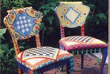 Painted/Redressed Furniture / by Tammy Finch