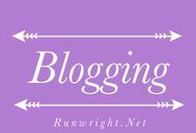 Blogging / Blogs I follow, blogs I write, posts I want to save and read again and again.