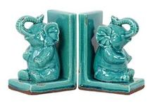 Bookends and bookmarks