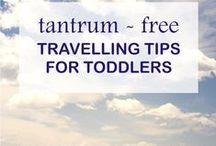Surviving Road Trips With Kids / Tips and tricks for more pleasant family vacations with small children