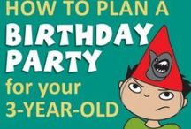 Birthdays / Planning kids' birthday parties can be stressful. Here are some funny stories and clever ideas to help ease the pain.