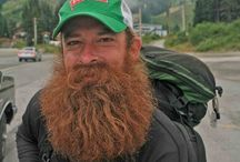 Backcountry Beardsmen / Thru-hikers and outdoorsmen often grow amazing beards while on extended adventures.