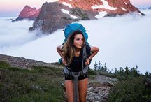 Chase the CloudLine / Epic outdoor adventures above the clouds! #adventures #CloudLine #climbing #hiking #backpacking