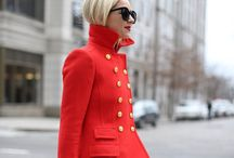 Red Fashion / red fashion street style