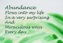Miracles, Abundance, Law of attraction