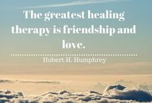 Healing Quotes / Healing can take many forms. It may be actual physical healing of wounds or injuries or it may be emotional recovery from psychological hurt. These healing quotes are applicable to all forms of healing.