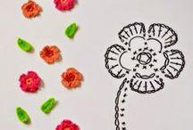 λουλουδια  με βελονακι