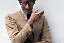 Yves Saint Laurent / Yves Saint Laurent portrait icon