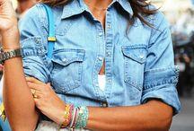 Denim Shirt / Denim Shirt style