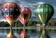 HOT AIR BALLOONS / by Nancy Wambach