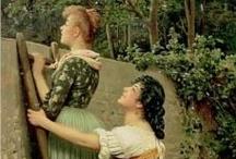 Feminine Favorites / Beautiful women in art....