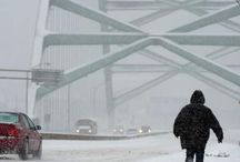 January 25, 2013 Winter Storm / A storm packing snow, wind, and cold swept through the Commonwealth, slowing travel.