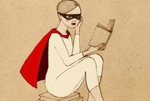 ... las hojas de un libro ... / http://loshilosdeunacometa.blogspot.com.es/