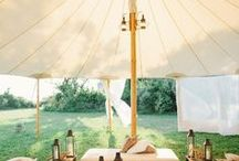 Celebration Places and Spaces / A collection of ethereal and fun Wedding venue and party decor.