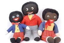 Golliwogg's & History / Golliwogg's first appeared in Florence Kate Upton books in 1895. The daughter of English parents who had emigrated to the USA three years previously. Following the death of her father, she moved back to England with her mother and sisters. There she spent several years drawing and developing her artistic skills. In order to afford tuition to art school, she illustrated a children's book entitled The Adventures of Two Dutch Dolls and a Golliwogg in 1895