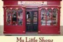 Dollhouse Shops & Stalls