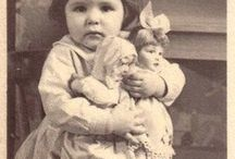 Vintage Photograph's Children with Toys / Vintage photograph's of children & their toys from 1900- on