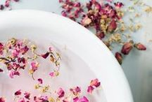 Relaxation & Beauty / The destination for all things 'treat yourself' related; From bath bombs, rose petals and 'at home spa days'.